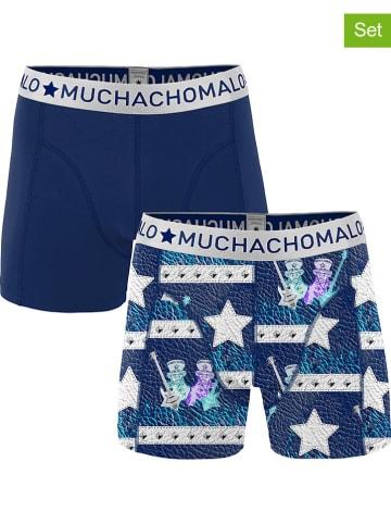 Muchachomalo 2-delige set: boxershorts blauw