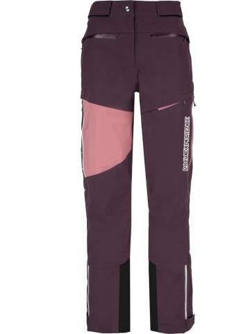 """ROCK EXPERIENCE Spodnie narciarskie """"Everest"""" w kolorze fioletowo-jasnoróżowym"""