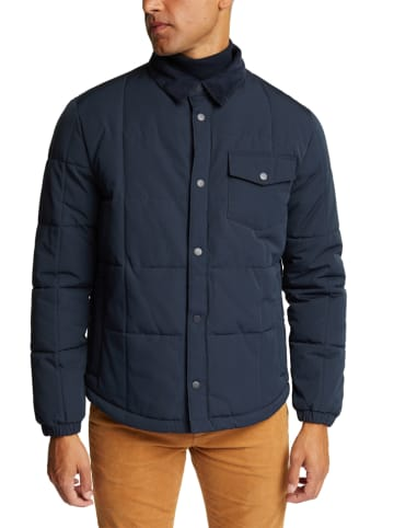 ESPRIT Winterjas donkerblauw