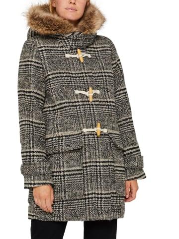ESPRIT Płaszcz przejściowy w kolorze szaro-beżowym