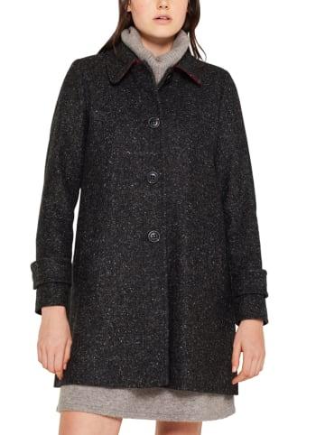 ESPRIT Płaszcz przejściowy w kolorze ciemnoszarym