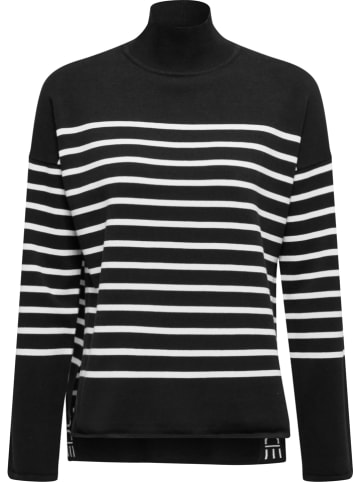 ESPRIT Sweter w kolorze czarno-białym
