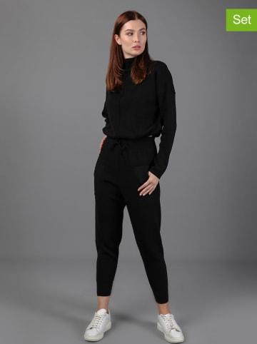 GIORGIO DI MARE 2-delige outfit zwart