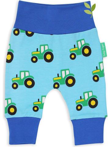 """Toby Tiger Broek """"Tractor"""" blauw"""
