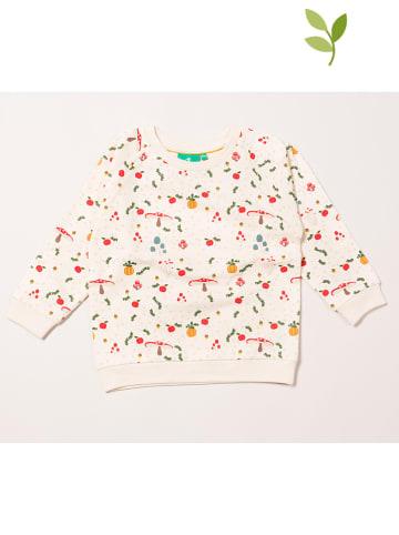 Little Green Radicals Bluza w kolorze białym