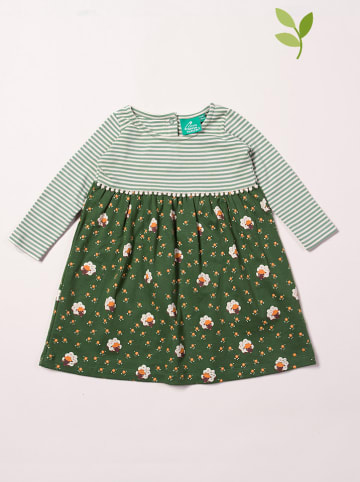 Little Green Radicals Sukienka w kolorze zielonym