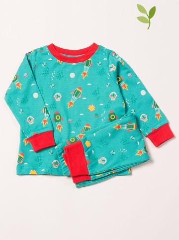 Little Green Radicals Pyjama turquoise