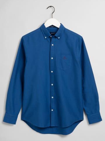 Gant Koszula - Regular fit - w kolorze granatowym