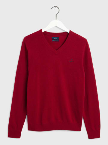 Gant Wollpullover in Bordeaux