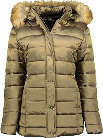 "Geographical Norway Winterjas ""Adela"" lichtbruin"