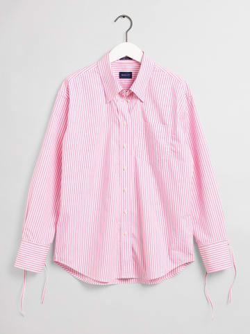 Gant Hemd in Rosa/ Weiß