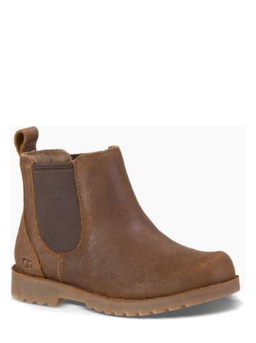 "UGG Leder-Chelsea-Boots ""Callum"" in Hellbraun"