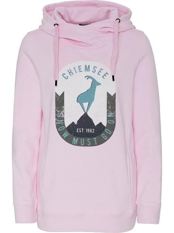 """Chiemsee Sweatshirt """"Annapurna"""" lichtroze"""