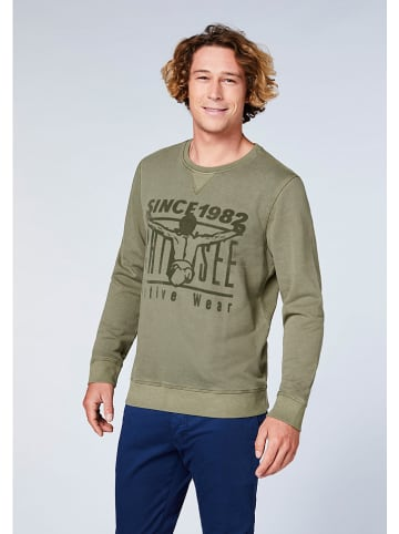 "Chiemsee Sweatshirt ""Mosca Point"" groen"
