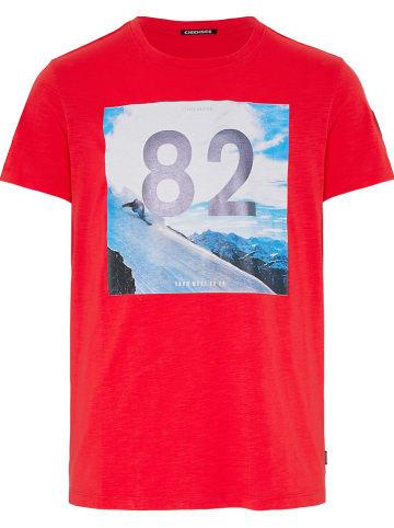 """Chiemsee Shirt """"Rakaposhi"""" rood"""