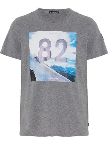 """Chiemsee Shirt """"Rakaposhi"""" grijs"""