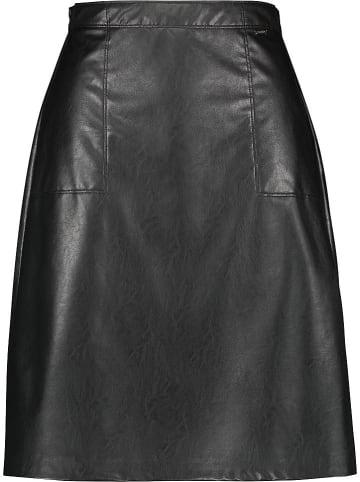 SAMOON Spódnica w kolorze czarnym