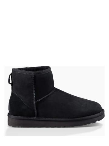 "UGG Leren boots ""Classic Mini II"" zwart"