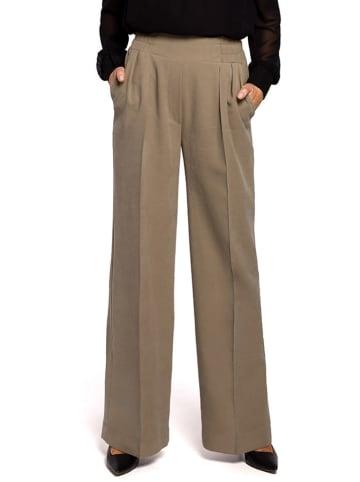 Stylove Spodnie w kolorze khaki