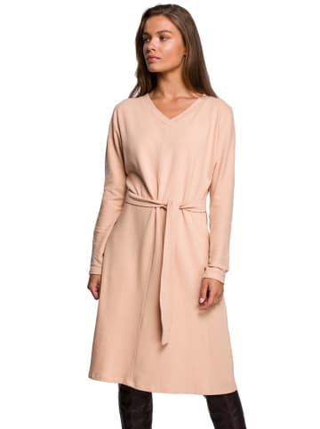 Stylove Sukienka w kolorze beżowym