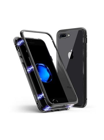 Unotec Full body case voor IPhone 7/8+ zwart