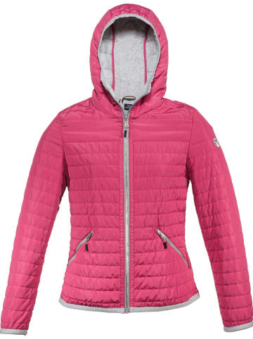 """DOLOMITE Tussenjas """"Quilted"""" roze"""