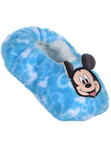 """Disney Mickey Mouse Kapcie """"Mickey Mouse"""" w kolorze błękitnym"""