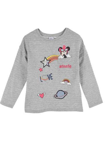 "Disney Minnie Mouse Longsleeve ""Minnie Mouse"" grijs"