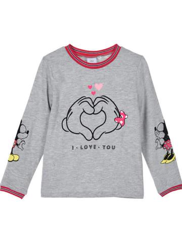 """Disney Minnie Mouse Koszulka """"Minnie Mouse"""" w kolorze szarym"""