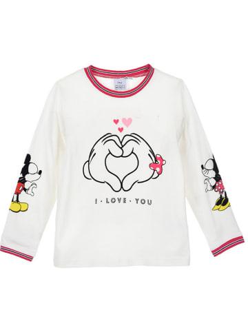 """Disney Minnie Mouse Koszulka """"Minnie Mouse"""" w kolorze kremowym"""