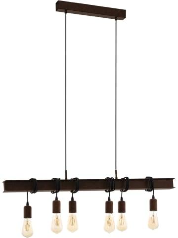 EGLO Hanglamp zwart - (B)100,5 x (D)7 cm