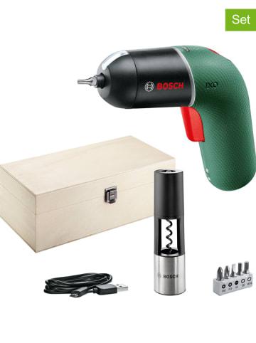 """Bosch 9-delige accuschroevendraaier """"IXO 6 Vino Set"""" groen"""