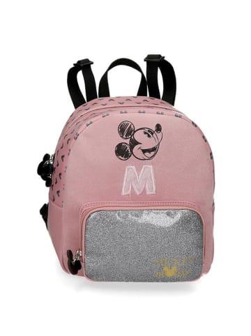 Disney Plecak w kolorze jasnoróżowym ze wzorem - (S)17 x (W)20 x (G)6 cm