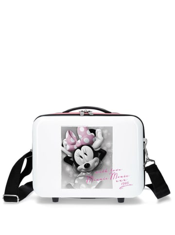 Disney Koffer wit/meerkleurig - (B)29 x (H)21 x (D)15 cm