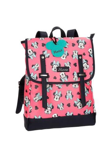 Disney Plecak w kolorze różowym ze wzorem - (S)29 x (W)38 x (G)9 cm