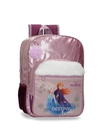 Disney Plecak w kolorze fioletowym ze wzorem - (S)28,5 x (W)38 x (G)12 cm