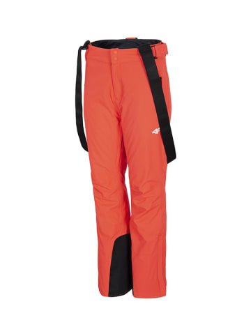 4F Ski-/snowboardbroek zwart/rood