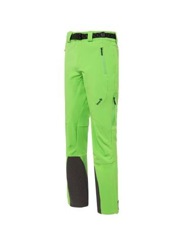 Izas Spodnie funkcyjne w kolorze zielonym
