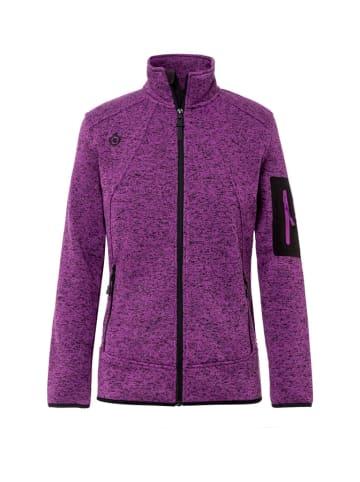 Izas Bluza w kolorze fioletowym