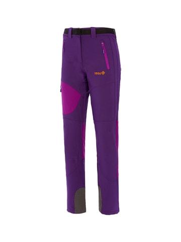 Izas Spodnie funkcyjne w kolorze fioletowym