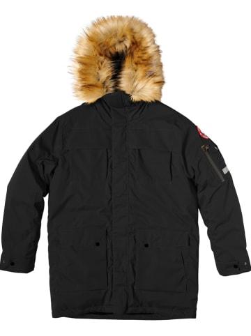 """COLD Winterjas """"Trondheim"""" zwart"""