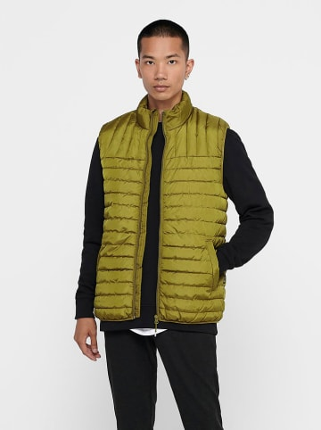 "ONLY & SONS Bodywarmer ""Paul"" olijfgroen"