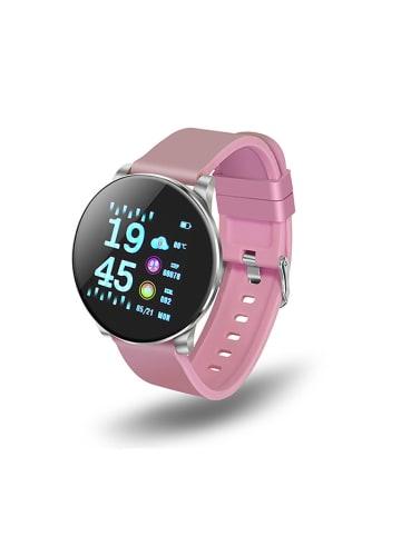 """Unotec Smartwatch """"Elegance"""" w kolorze różowym"""