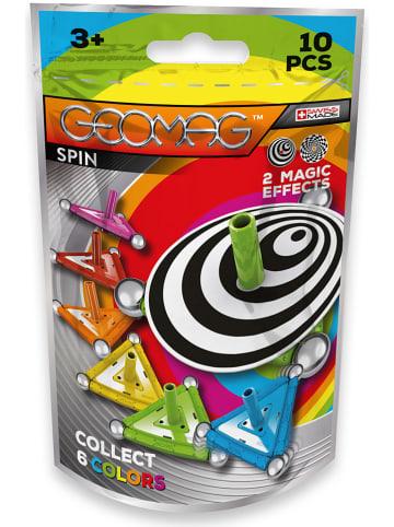 """Geomag 10-częściowy zestaw magnetyczny """"Spin"""" - 3+"""