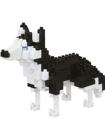 """Nanoblock 200-częściowe puzzle 3D """"Siberian Husky"""" - 12+"""