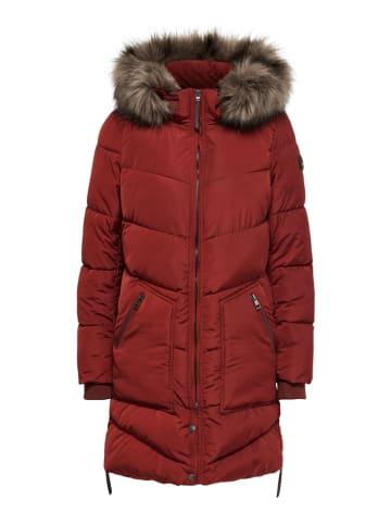 """ONLY Kurtka zimowa """"Roona"""" w kolorze czerwonym"""