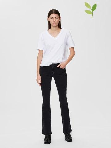 """SELECTED FEMME Koszulka """"Standard"""" w kolorze białym"""