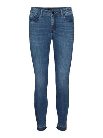 """Vero Moda Dżinsy """"SEVEN"""" - Skinny fit - w kolorze niebieskim"""