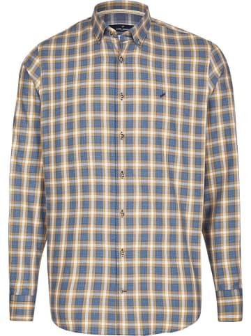 """Daniel Hechter Hemd """"Modern fit"""" in Beige/ Blau"""