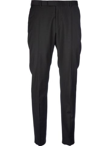 Strellson Wełniane spodnie chino - Slim fit - w kolorze czarnym